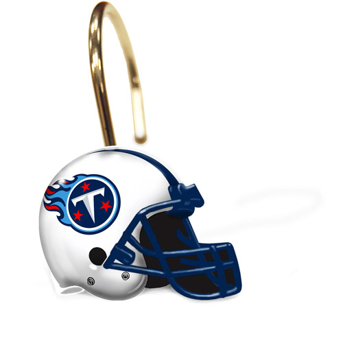 NFL Tennessee Titans Curtain Rings, Set of 12