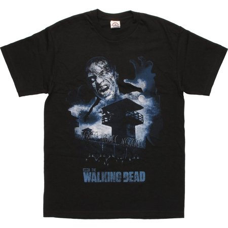 Walking Dead Prison Yard Scene T-Shirt ()