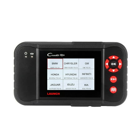 launch x431 creader vii+ ( crp123) auto code reader obdii eobd scanner  testing engine/transmission/abs/ airbag system update via pc