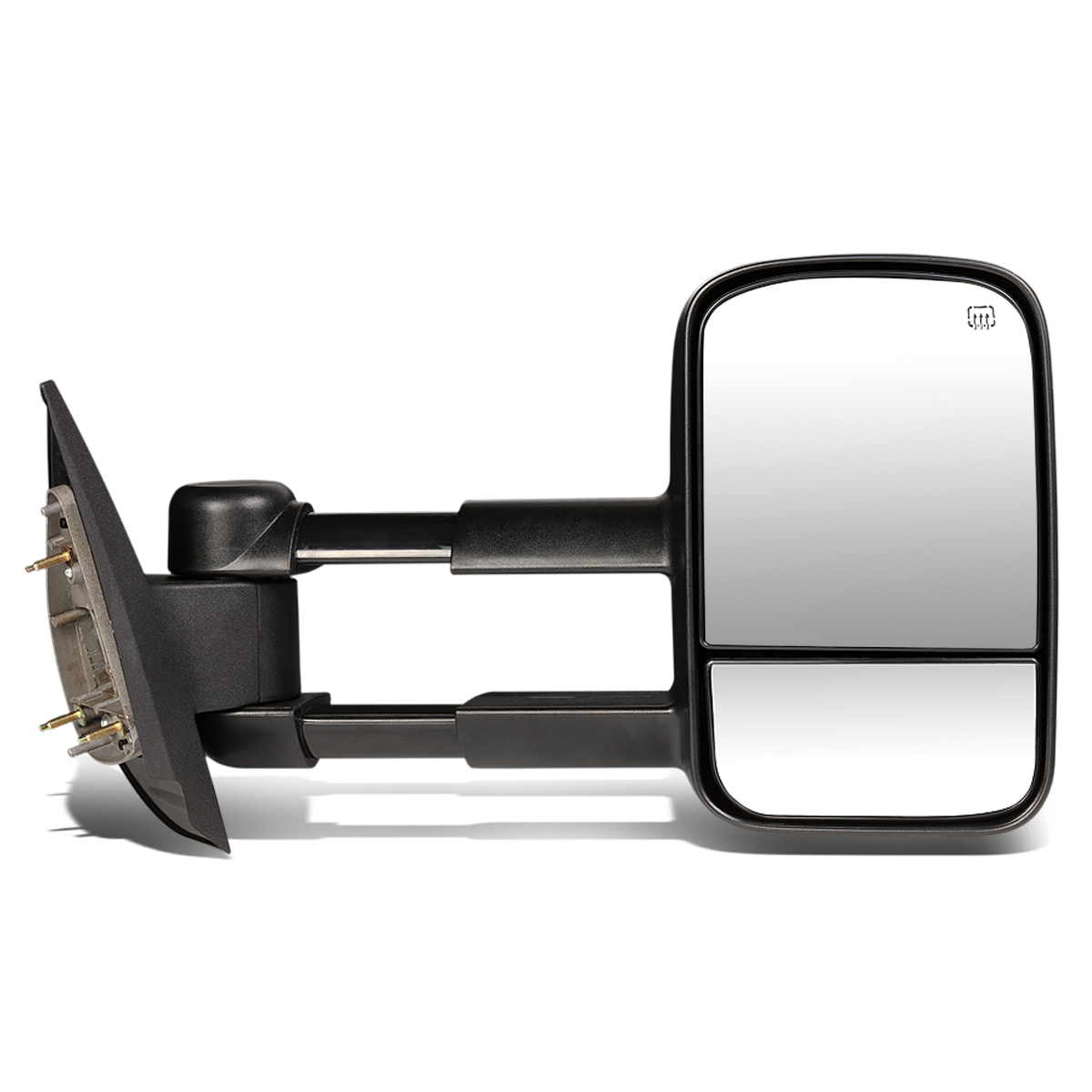 For 2007-2014 Chevy Silverado/GMC Sierra Powered Adjustment+Heated Tow Towing Mirror (Right/Passenger)