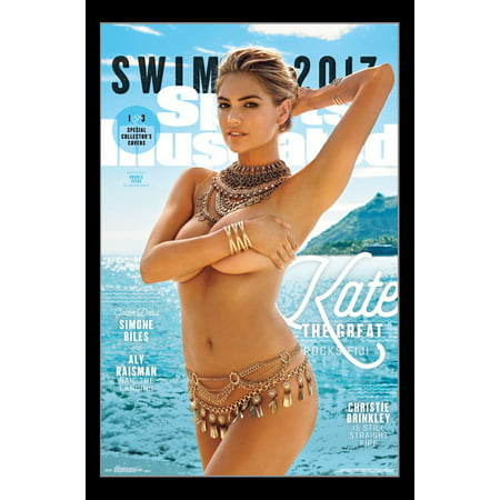 Sports Illustrated Cover Print (Sports Illustrated - Kate Upton Cover #2 2017 Poster)