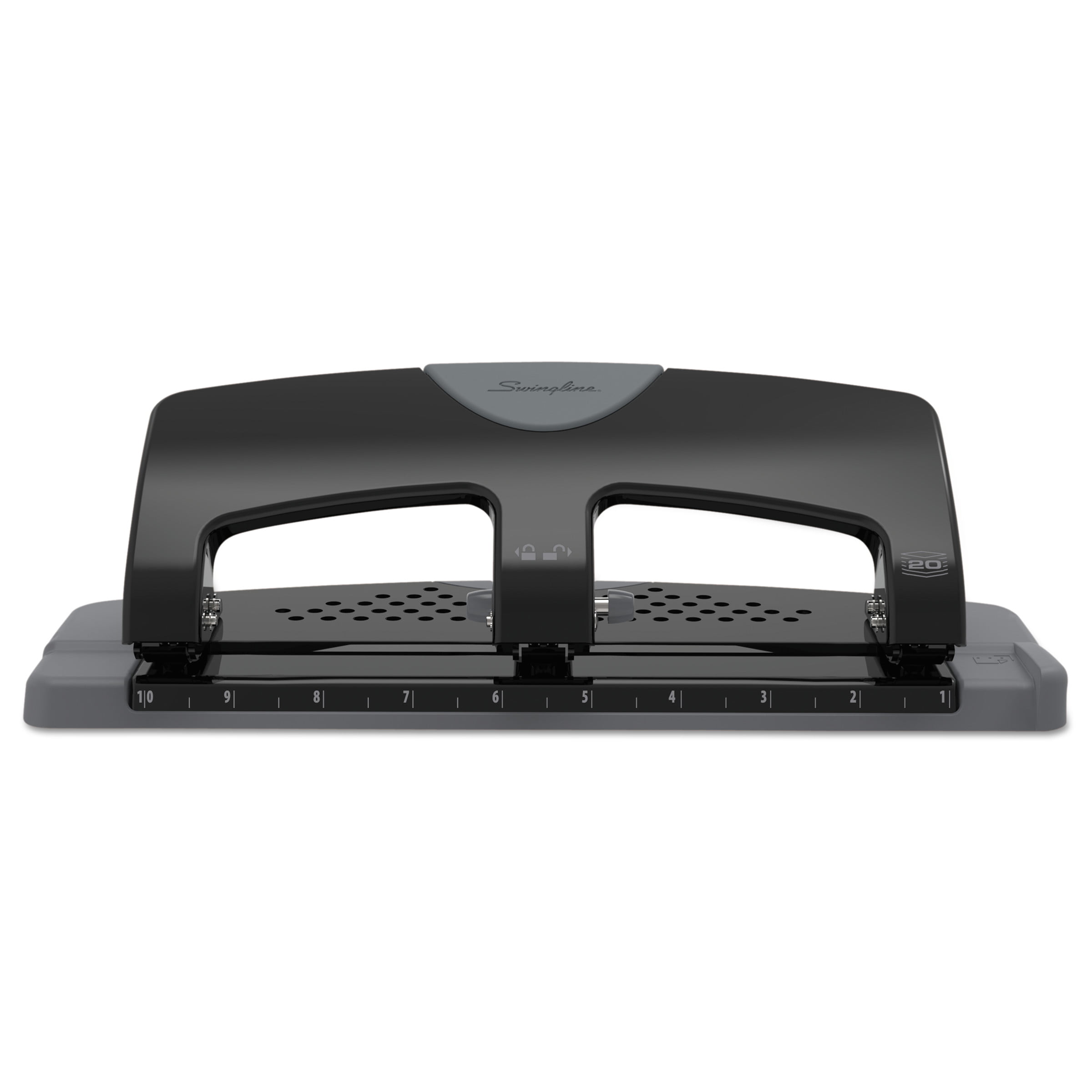 Swingline SmartTouch 2-hole Punch REDUCED Effort 20 Sheet Capacity A7074135 for sale online