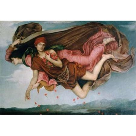 Bentley Global Arts Pdx281967small Night   Sleep   Detail Poster Print By Evelyn De Morgan  44  10 X 14   Small