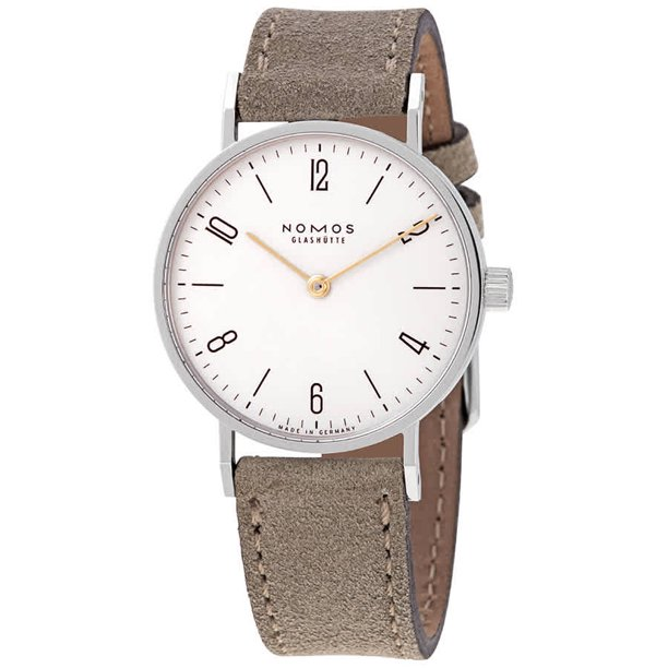 Nomos Tangente 33 Duo Manual Winding White Dial Unisex Watch 120