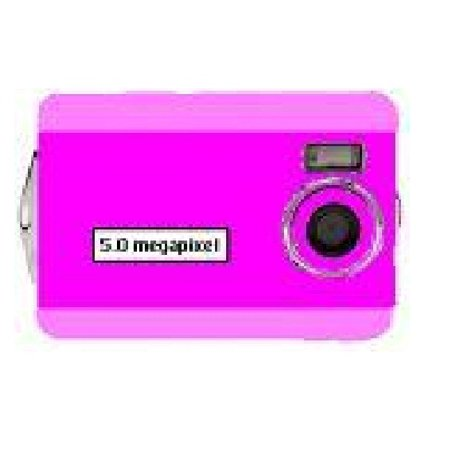 Offer Digital Blue 5 Megapixel Digital Camera – Pink Before Special Offer Ends