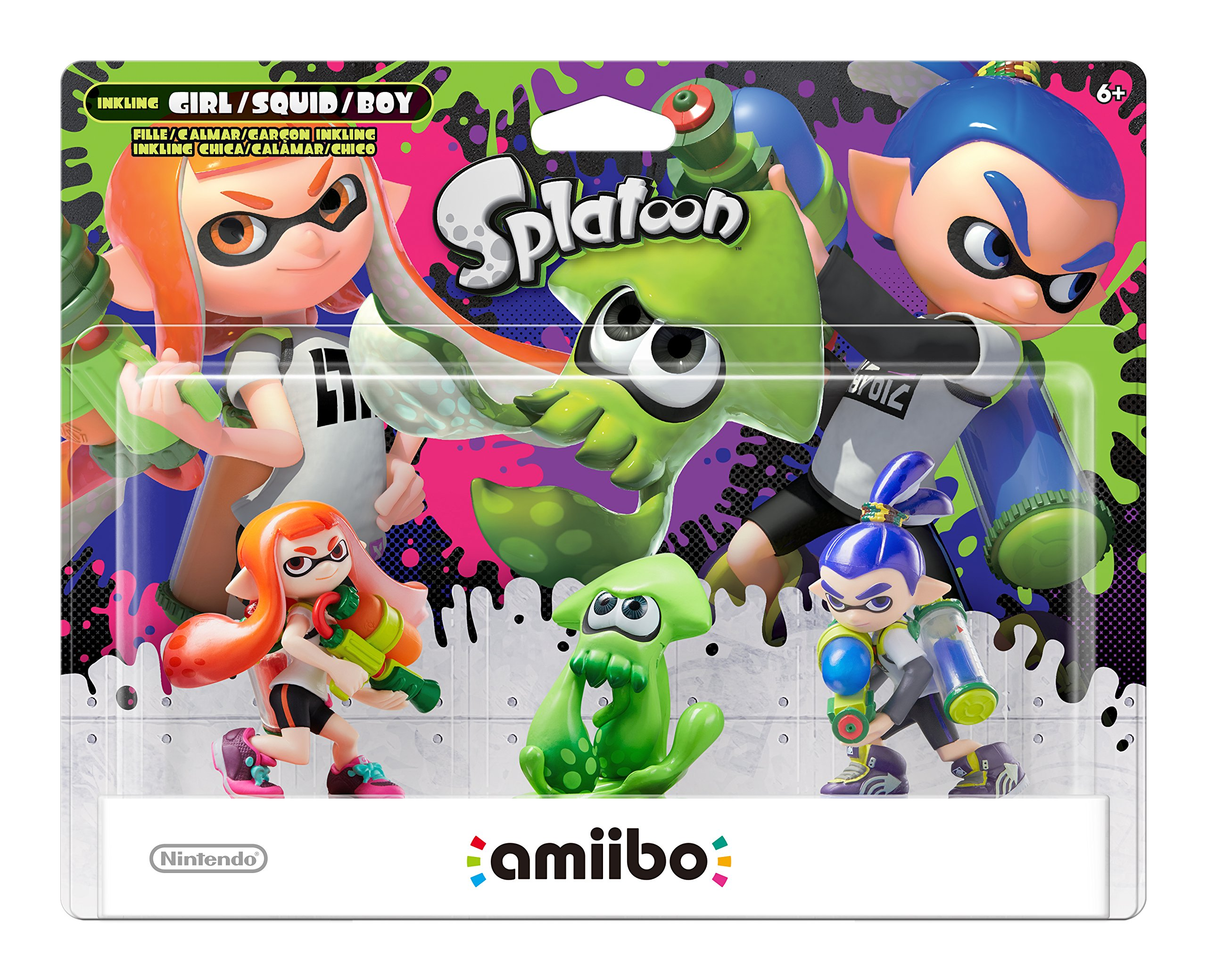 Splatoon 3-Pk, Splatoon Series, Nintendo amiibo, NVLEAE3A by Nintendo