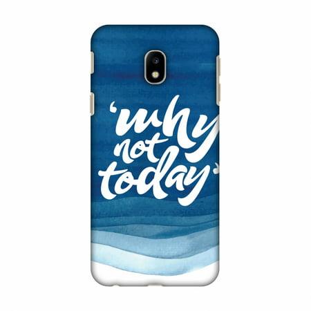buy online 13b75 a8ebf Samsung Galaxy J3 Pro Case, Samsung Galaxy J3 Pro 2017 Case - Why Not  Today!,Hard Plastic Back Cover. Slim Profile Cute Printed Designer Snap on  Case ...