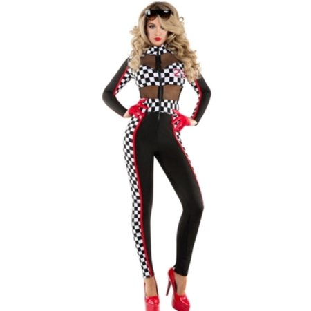 Racer Halloween Costumes (Racy Racer Costume Starline S6097)
