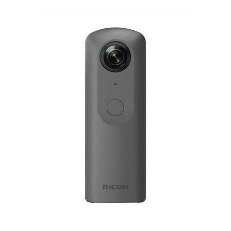Ricoh Theta V Spherical Digital Camera, 4K Ultra HD, Dark Gray,