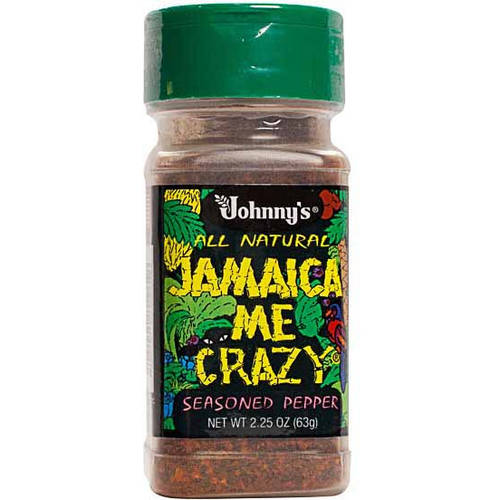 Johnnys Seasoned Pepper, Jamaica Me Crazy