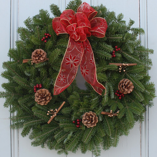 Worcester Wreath Inc. Cinnamon Stick Wreath
