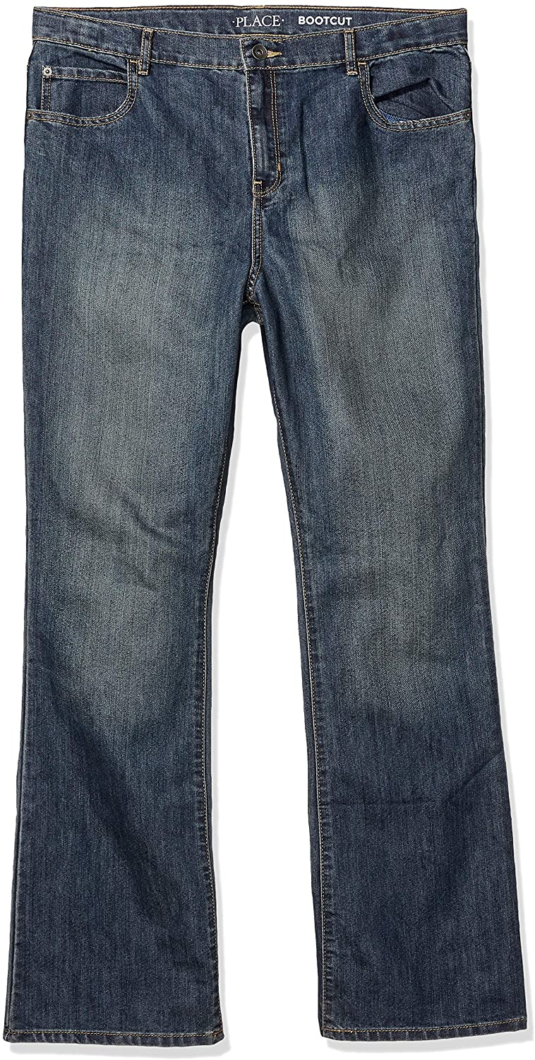 The Childrens Place Boys Bootcut Jean