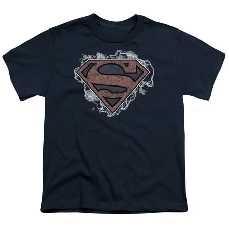 Superman Storm Cloud Supes Big Boys Youth Shirt