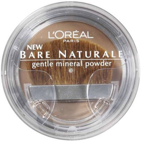 Loreal Bare Naturale Gentle Mineral Powder, .33 oz.