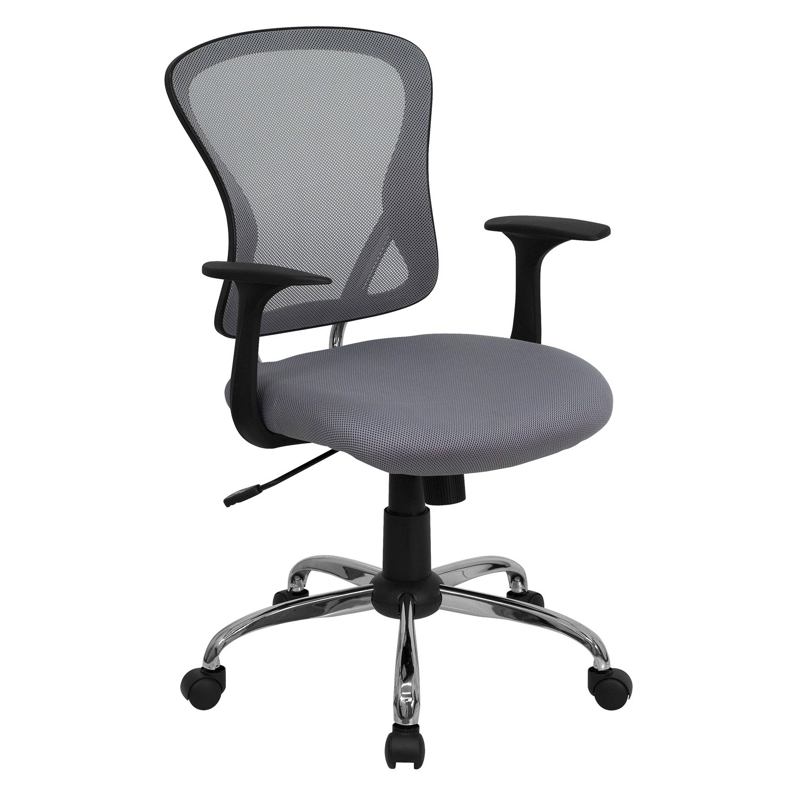 Flash Furniture Mesh Desk Chair with Chrome Base, Multiple Colors by Flash Furniture