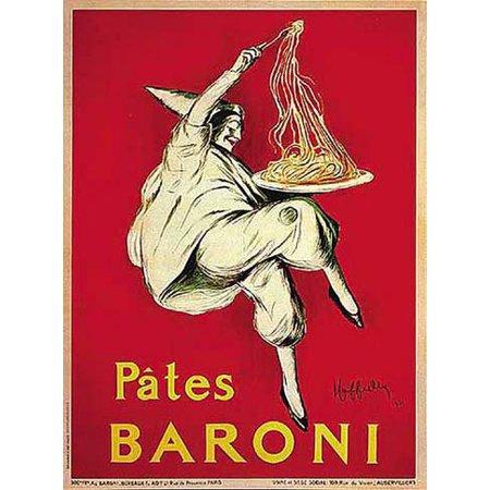- Pates Baroni Vintage Ad Poster by Leonetto Cappiello, 24