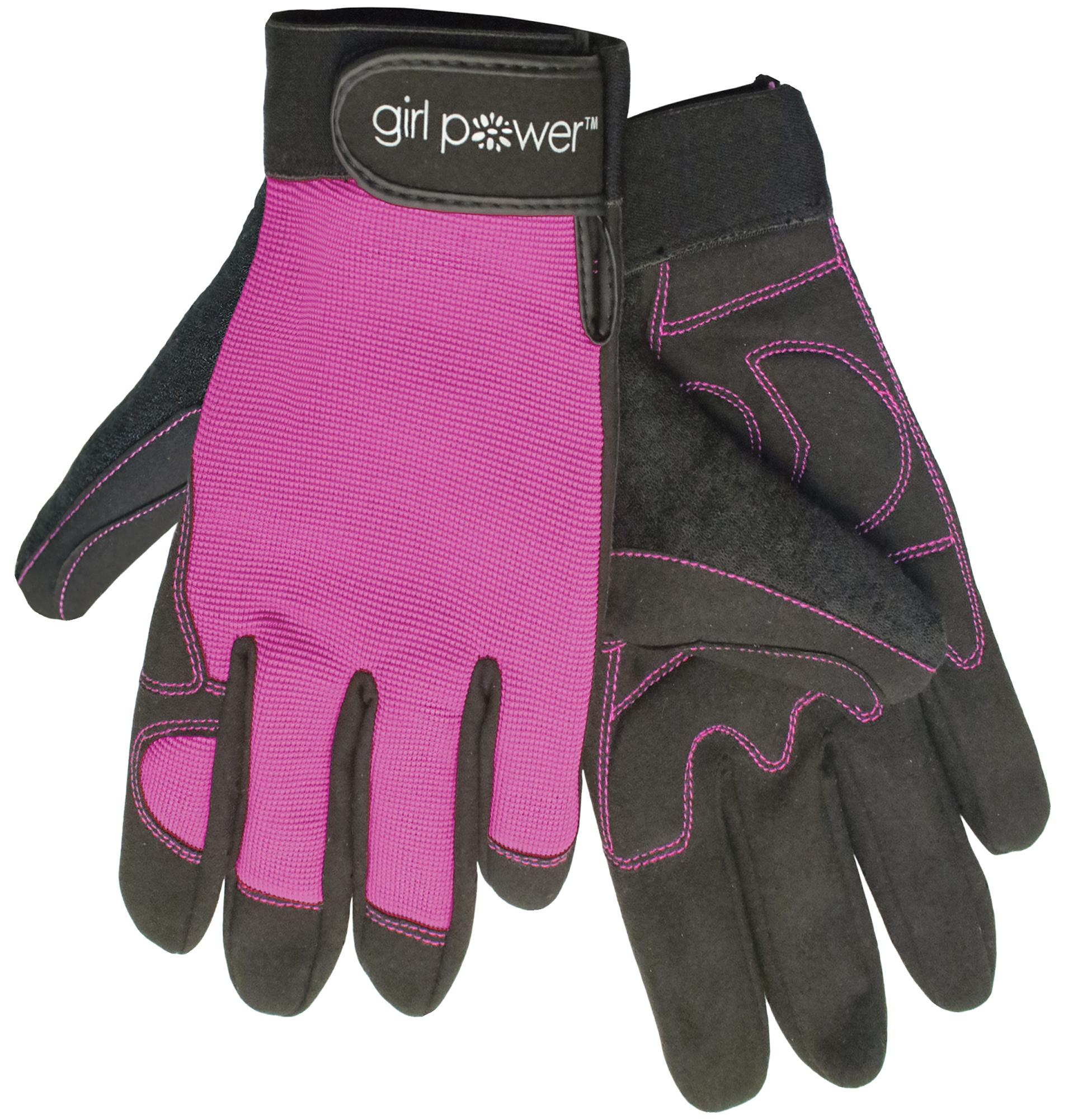 ERB Safety 28859 Gloves MGP100- Girl Power at WorkTM Pink Large 1 Pair