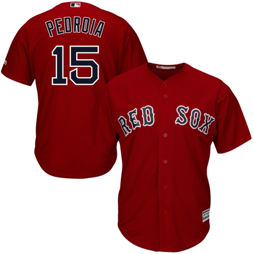 Dustin Pedroia Boston Red Sox Majestic Cool Base Player Jersey - Red
