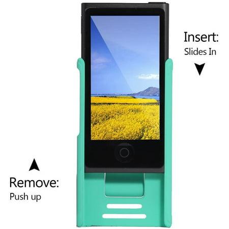 Tranesca Ultra Slim Protective Case for iPod Nano 7&8th Generation.(Sea Green) - image 4 de 4