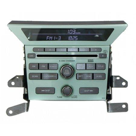 2009 2010 2011 Honda Pilot AM FM 6 Disc CD OEM USED Radio 39100-SZA-A400 1AV0 - (Used Car Stereos For Sale In Bangalore)
