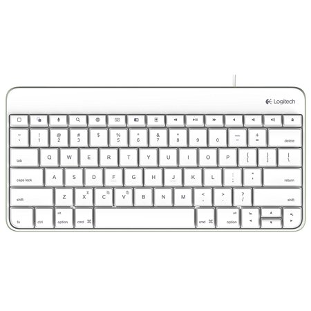 Used Logitech Wired Keyboard for iPad 30-Pin or Lightning