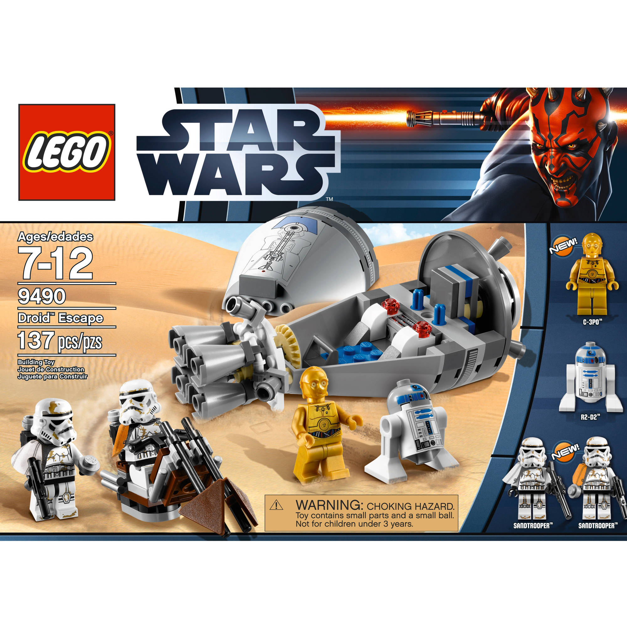 Lego Star Wars Droid Escape Walmartcom