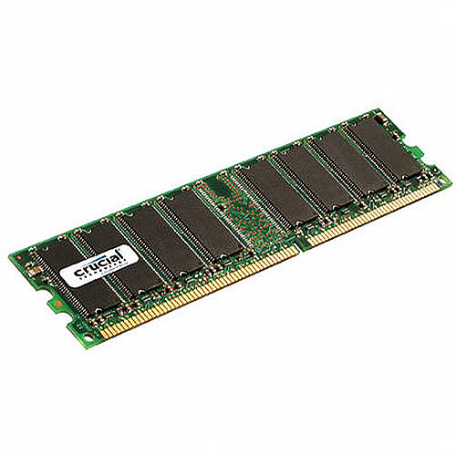 Crucial 1GB 184-pin DDR PC3200 DIMM