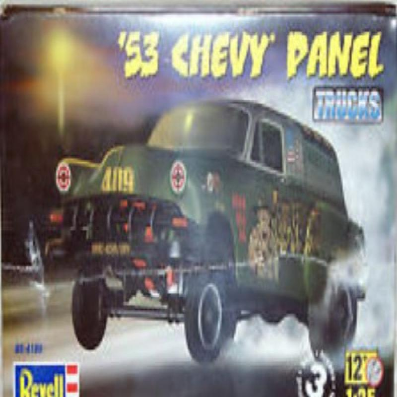 Revell 4189 1953 Chevy Panel Truck 1 25 Scale Model Kit by