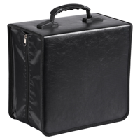 400pcs Capacity Disc Carry Case CD Storage Black