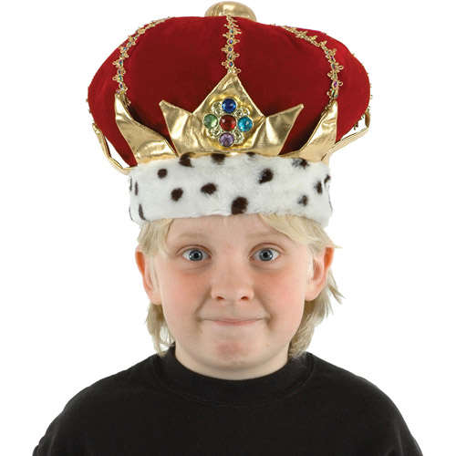King's Crown Child Halloween Accessory