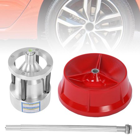 WALFRONT Car Truck Portable Hubs Wheel Tire Balancer Bubble Level Heavy Duty Rim ,Tire Balancer, Wheel Tire Balancer ()