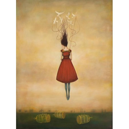 Suspension of Disbelief Figurative Fantasy Print Wall Art By Duy Huynh