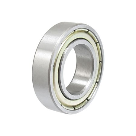 Unique Bargains 15mm x 28mm x 7mm Metal Shielded Deep Groove Miniature Ball Bearings