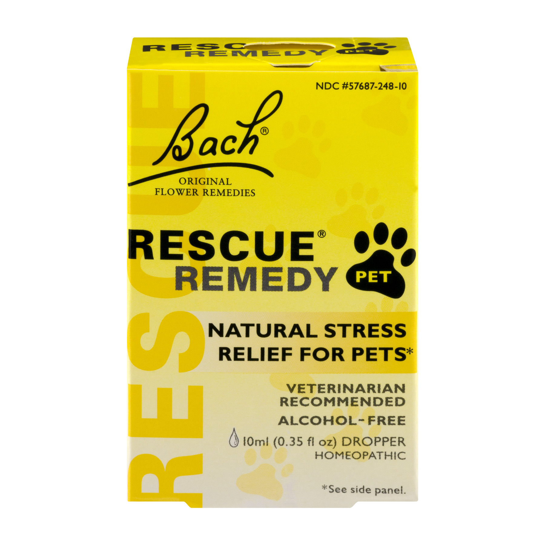 Rescue Remedy Pet Bach Natural Stress Relief for Pets, 10 mL