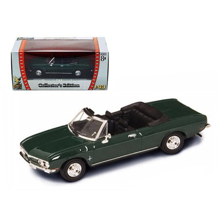 1969 Chevrolet Corvair Monza Green 1/43 Diecast Model Car by Road Signature ()