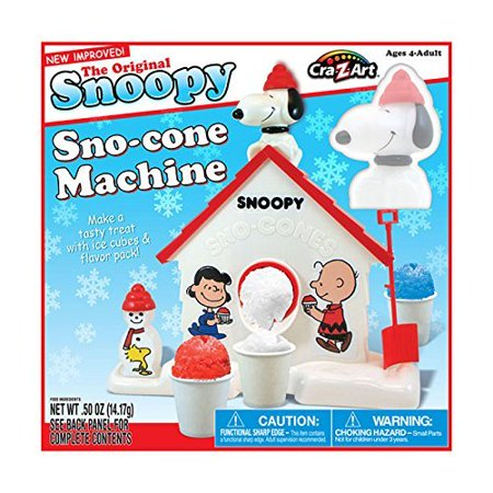 Snoopy Snow Cone Machine -