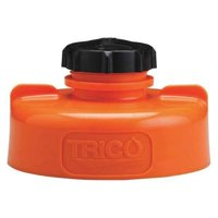 TRICO 34435 Storage Lid,HDPE,3.25 in. H,Orange