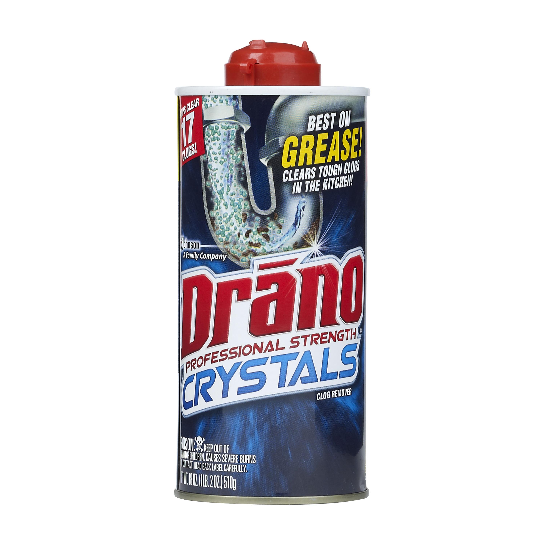 Drano Kitchen Crystals Clog Remover 18 Ounces Walmart Com