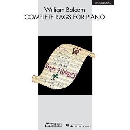 Edition Etching Rag - William Bolcom - Complete Rags for Piano : Revised Edition