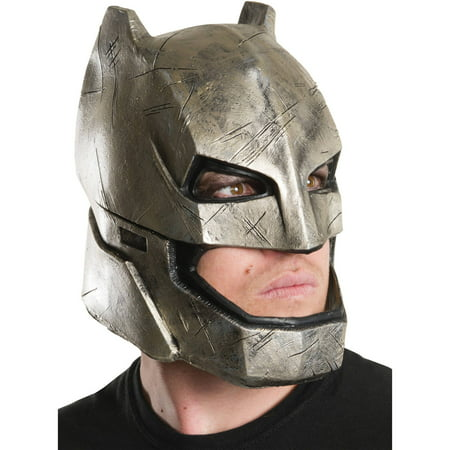 Dawn of Justice Armored Batman Mask Adult Halloween Accessory - Batman Halloween Stories
