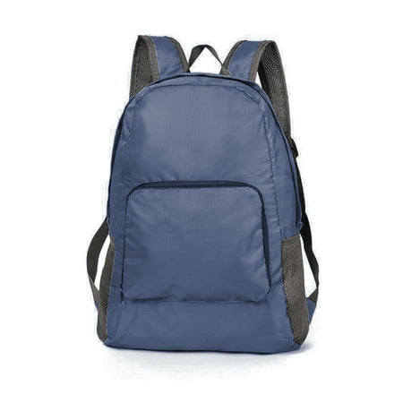 Ultra Lightweight & Durable Backpack for Men, Women and Teens â Compact Foldable Packable Daypack for Travel, Hiking, and Daily Commutes (Navy) ()