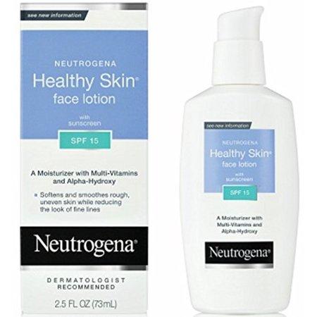 Neutrogena Healthy Skin Face Lotion, SPF 15, 2.5
