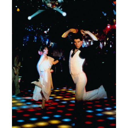 Saturday Night Fever Canvas Art -  (16 x 20) - Saturday Night Fever Suit