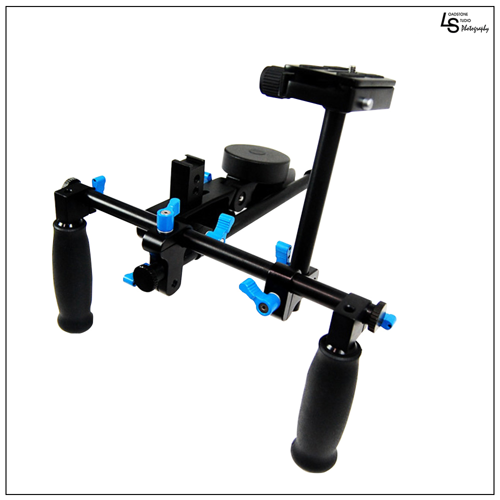 Profession?al DSLR Shoulder Rig Support Bracket Video Stabilizer System for Cinema Camera Shooting by Loadstone Studio  WMLS0429