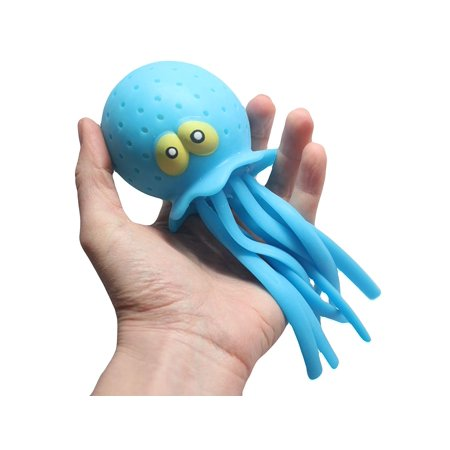 Large Jellyfish/Octopus Pool & Bath Toy - Water Bomb (Water Bomb Slingshot)