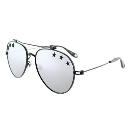 Givenchy  GV 7057 Stars 807 DC Unisex  Aviator Sunglasses - Sunglasses Star