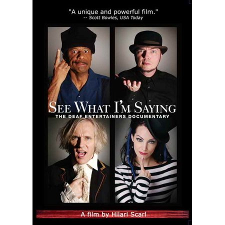 See What I'm Saying: The Deaf Entertainers Documentary POSTER Movie - Halloween Documentary