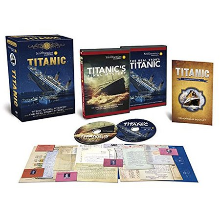 Smithsonian Channel: Titanic's Final Mystery - The Heritage Collection (2-Disc DVD + Historic Archives) (Widescreen) One hundred years ago, on April 10th 1912, the world's largest and most luxurious steamship ever built, the RMS Titanic, set sail on her maiden voyage from Southampton to New York. Despite her  unsinkable  image, it was a journey she could never complete. In less than five days, she would fatally strike an iceberg and lie broken on the bottom of the North Atlantic Ocean. Taken from the testimonies of the survivors of that tragic night, this film will use drama and documentary to piece together the final few hours before and after the collision and reveal how she was doomed from the outset. With the forces of nature conspiring against her in a  perfect storm , we will prove that the sinking and subsequent loss of over 1500 lives was an inevitable disaster. We will reveal the real reason why she sank and why so many would die, finally closing the case on the RMS Titanic. Our detective is author and historian Tim Maltin. Tim has spent the last 20 years researching the tragedy of Titanic and has developed a new and final theory about what really went on the night that Titanic sank. Working from his base in London, Tim has drawn together clues from key sources across the world. His knowledge will blow apart many a myth and ultimately reveal a watertight theory that will shed new light on the Titanic disaster and forever change our understanding of what happened that night. To prove his theory, Tim will journey across the North Atlantic, travelling from the furthest tip of Newfoundland by boat out to the Labrador Current and the scene of the crime. Icebergs still haunt this stretch of water and will inevitably give him the best opportunity to understand the geographical circumstances of Titanic's fatal last night. Historical Archives & Booklet Collection: Hold history in your hands with this collection of authentic RMS Titanic memorabilia, recreated from original materials at The National Archives in London, England. Accompanied by an illustrated booklet, the items includ