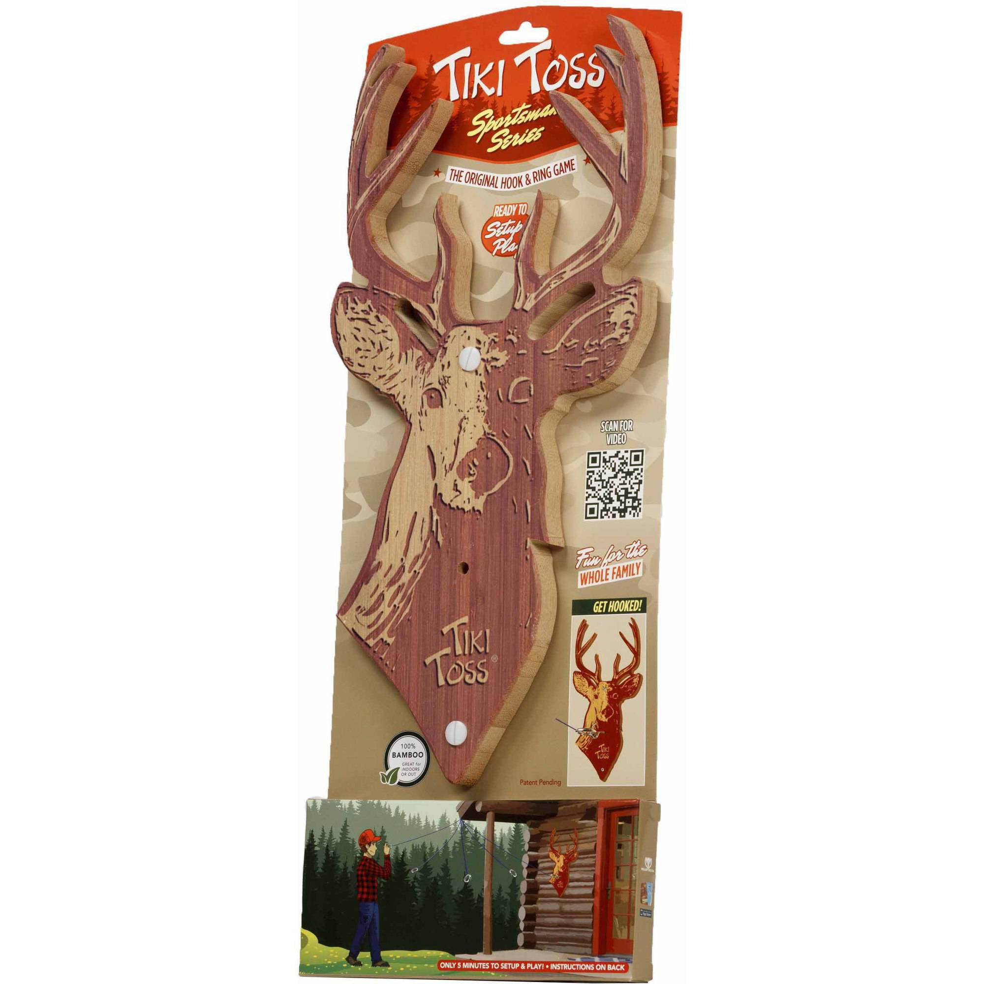 Tiki Toss Sportsman Series, Buck by Mellow Militia LLC