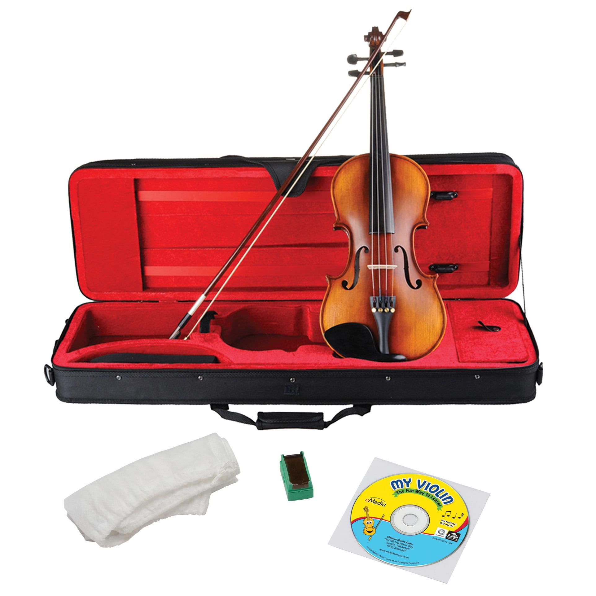 eMedia My Violin Premium Starter Pack Full Size by Emedia Music